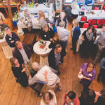 Nellie's Schoolhouse Second Anniversary Celebration-Arial View of the Crowd