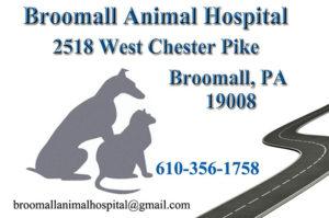 broomall animal hospital logo